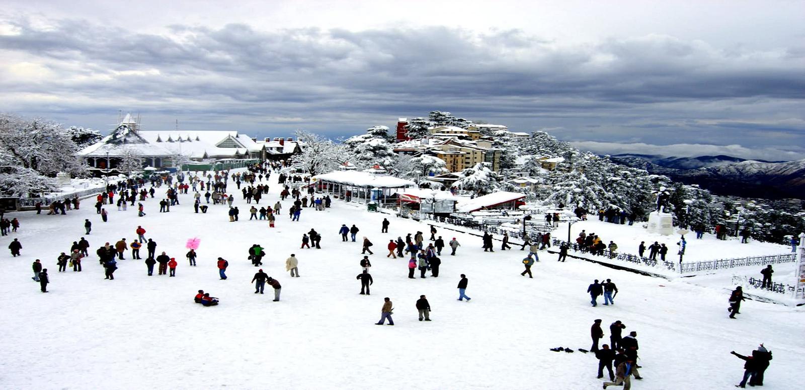 snow covered Ridge Shimla